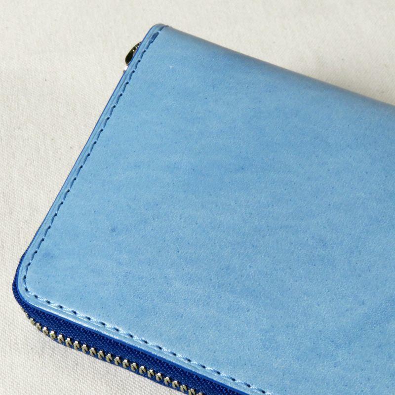 super popular 4d52a 974af BAGGYPORT KOI / バギーポート コーアイ 藍染レザーウォレット blue